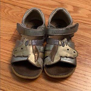 3/$10 Livie & Luca unicorn sandals